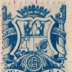 Sellos: 1937 - ESPAÑA - GUERRA CIVIL - GRANADA - CARIDAD GRANADINA. Lote 195356168