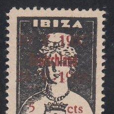 Sellos: GUERRA CIVIL, 1938 IBIZA GALVEZ Nº B 447 29-V-1937 / DEUTSCHLAND / 29-V-1938. Lote 195539742