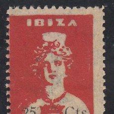Sellos: GUERRA CIVIL, IBIZA, PRO PARO, GALVEZ Nº 269A, 25 CTS, . Lote 195541373