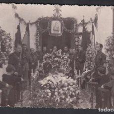 Sellos: TARJETA POSTAL, FOTOGRAFÍA VELATORIO JOSE ANTONIO PRIMO DE RIVERA, . Lote 195760536