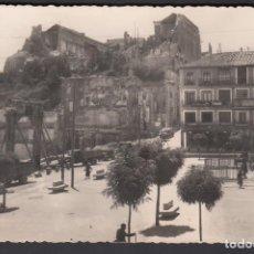 Sellos: TARJETA, FOTOGRAFÍA EL ALCÁZAR DESPUÉS DEL ASEDIO. VALENCIA A FRANCIA. Lote 195771306