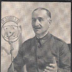 Timbres: TARJETA POSTAL, GENERAL QUEIPO DE LLANO. Lote 195772677