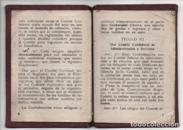 Sellos: CARNET. C.N.T. 24 CUOTAS + 7 CUOTAS- S.U. DE ESPECTACULOS PUBLICOS, VER FOTOS - Foto 5 - 195901786