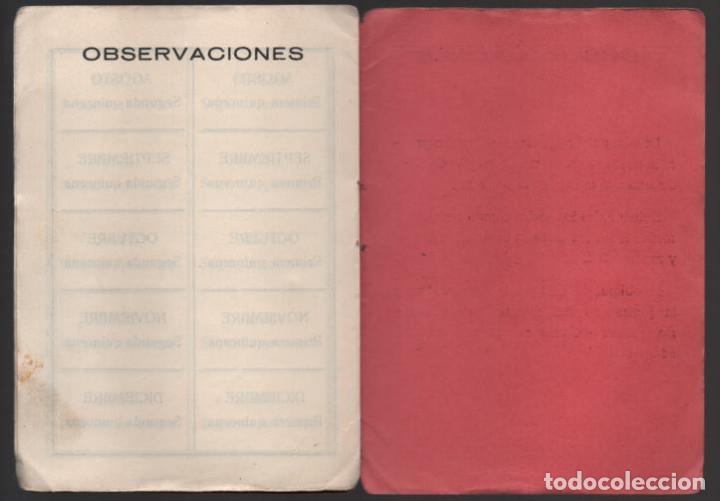 Sellos: MADRID, CARNET, SOC. OBRERA FOTOGRAFOS Y SIMILARES- CON 8 CUOTAS AÑO 1937, VER FOTOS - Foto 4 - 196114540