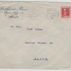 Timbres: LOTE V-SOBRE 1935 SELLO LOPE DE VEGA MATA SELLOS. Lote 196801507