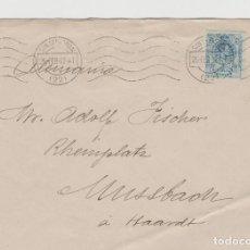 Timbres: LOTE V-SOBRE 1913 SAN SEBASTIAN MATA SELLOS. Lote 196801593