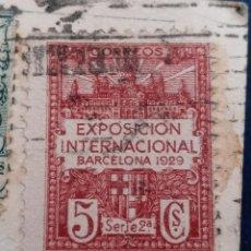 Sellos: SELLO VIÑETA EXPOSICION INTERNACIONAL DE BARCELONA 1929 5 CÉNTIMOS. Lote 197181407