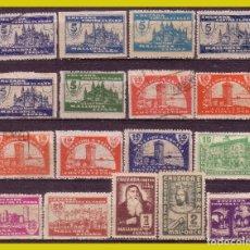 Sellos: LOCALES, MALLORCA, GUERRA CIVIL, FESOFI Nº 40 A 58, CASI COMPLETA, LEER. Lote 197458617