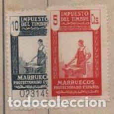 Selos: TETUAN. MARRUECOS- FACTURA CON SELLOS IMPUETO TIMBRE- VER FOTOS. Lote 197731873