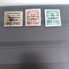 Sellos: SELLOS CON SOBRETASA CANARIAS ESPAÑA. Lote 197735561