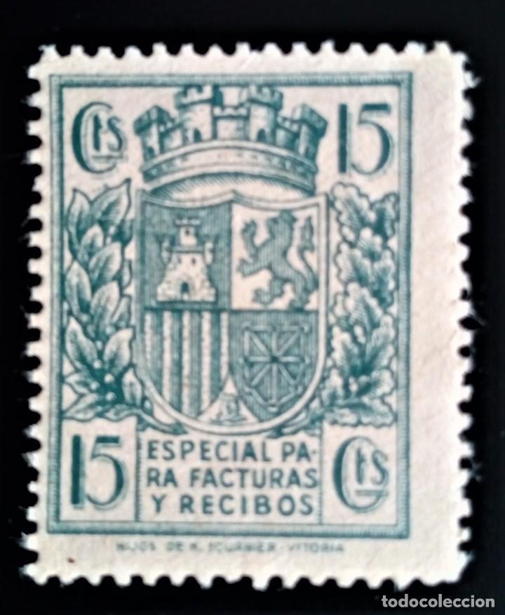 FISCAL ESPAÑA FACTURAS RECIBOS ESCUDO ALEMANY 31 (Sellos - España - Guerra Civil - De 1.936 a 1.939 - Nuevos)
