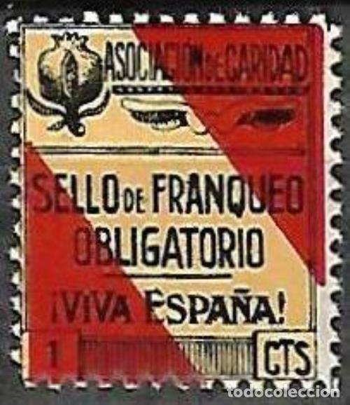 VIÑETA Nº 49 NUEVA (Sellos - España - Guerra Civil - Viñetas - Nuevos)