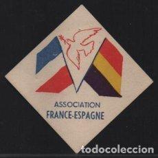 Francobolli: VIÑETA.- REPUBLICANA, ASSOCIATION FRANCE-ESPAGNE,REVERSO. COLOR MORADO CALCADO, VER FOTOS. Lote 198104110