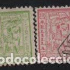 Timbres: MELILLA, 5 Y 10 CTS, PRO-PARO- VER FOTO. Lote 198565962