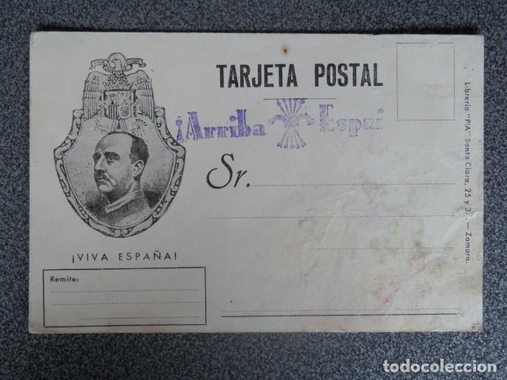 DOS TARJETAS PATRIÓTICAS CON ESTAMPILLADOS (Sellos - España - Guerra Civil - De 1.936 a 1.939 - Cartas)
