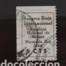 Sellos: NAVAS DE SAN JUAN-JAEN- S.R.I..- HOSPITAL DE SANGRE- VER FOTO. Lote 199118725