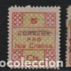 Francobolli: I. CRISTINA-HUELVA-, 5 CTS, TIPO- 5 CHICO- CORREOS- VER FOTO. Lote 199327317