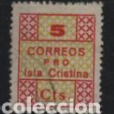 Francobolli: I. CRISTINA-HUELVA-, 5 CTS, TIPO- 5 GRANDE- CORREOS- VER FOTO. Lote 199327341