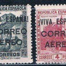 Sellos: ESPAÑA SELLOS PATRIOTICOS BURCOS 79**/80** CON MARQUILLA MNH** FOTOGRAFIAS. Lote 199417637