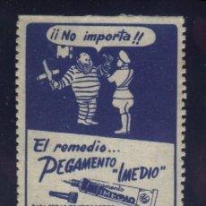 Sellos: S-4861- EL REMEDIO PEGAMENTO IMEDIO. Lote 199737626