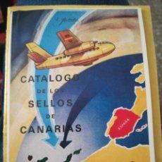 Francobolli: CATÁLOGO DE LOS SELLOS DE CANARIAS 1936-1938 E AURIOLES 1968. Lote 199914395