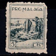 Francobolli: MALAGA SELLO DE 5 CTS PRO MALAGA USADO (220). Lote 199931081