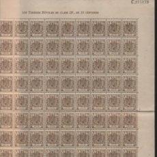 Selos: ESPECIAL MOVIL, 10 CTS- PLIEGO DE 100 SELLOS- NUEVOS, - VER FOTO. Lote 200120872