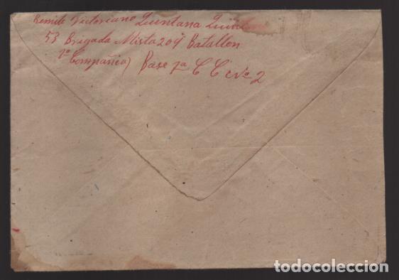 Sellos: CARTA Y SOBRE DE MADRID A BADAJOZ, APARTADO PARTICULAR-, MARZO 1938, VER FOTOS - Foto 2 - 200784681