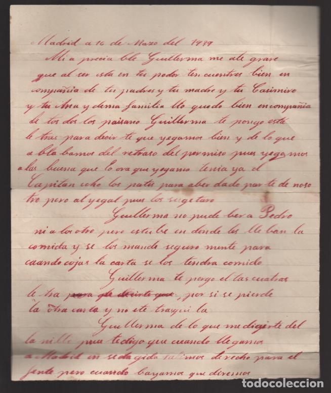 Sellos: CARTA Y SOBRE DE MADRID A BADAJOZ, APARTADO PARTICULAR-, MARZO 1938, VER FOTOS - Foto 3 - 200784681