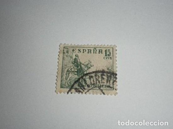 ESPAÑA 15 CÉNTIMOS USADO (Sellos - España - Guerra Civil - De 1.936 a 1.939 - Usados)