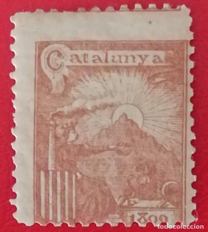 SELLO CATALUNYA 1899 (Sellos - España - Guerra Civil - Viñetas - Nuevos)