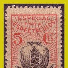 Timbres: GUERRA CIVIL, SELLOS LOCALES GRANADA GRANADA, FESOFI Nº 71 (*). Lote 201917273
