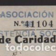 Timbres: VALENCIA,- CUOTA 1 PTA- ASOCIACION DE ASISTENCIA SOCIAL- REPUBLICA- AÑO 1937, VER FOTO. Lote 201917647