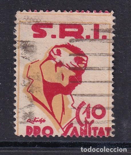 SRI. PRO GUARDERIES. 10 CTS (Sellos - España - Guerra Civil - De 1.936 a 1.939 - Usados)