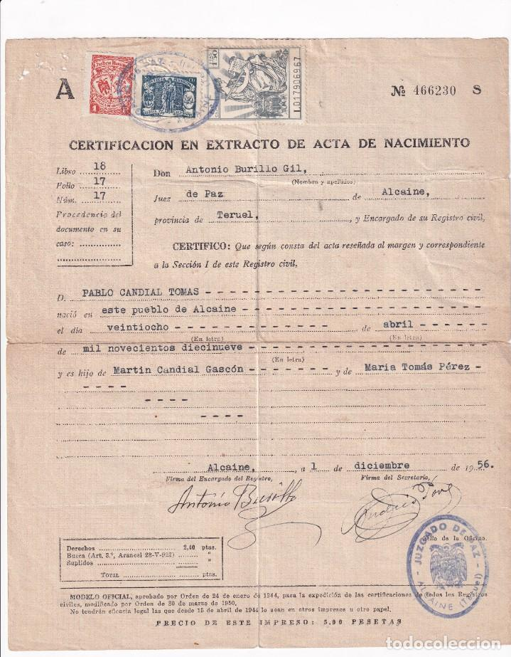 LOTE DOCUMENTOS SELLOS FISCALES. VER FOTOS (Sellos - España - Guerra Civil - Viñetas - Usados)