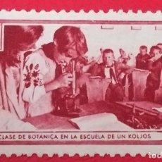 Sellos: SELLO AMIGOS DE LA UNION SOVIETICA, CLASE DE BOTANICA EN LA ESCUELA DE UN KOLJOS 10 CTS. Lote 202685342