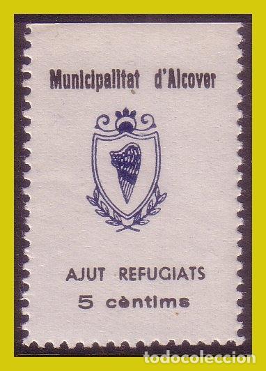 GUERRA CIVIL, SELLOS LOCALES TARRAGONA, ALCOVER, FESOFI Nº 9 * * (Sellos - España - Guerra Civil - Locales - Nuevos)