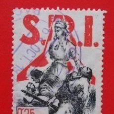Sellos: SELLO S.R.I.PRO-VICTIMES DEL FREIXISME, 0,25 PTES. Lote 202890698