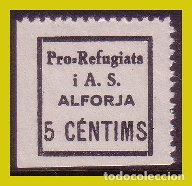 GUERRA CIVIL, SELLOS LOCALES TARRAGONA, ALFORJA, FESOFI Nº 1 * * (Sellos - España - Guerra Civil - Locales - Nuevos)