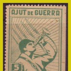 Sellos: GUERRA CIVIL, SELLOS LOCALES TARRAGONA, LLORENS, FESOFI Nº 1 *. Lote 202896611