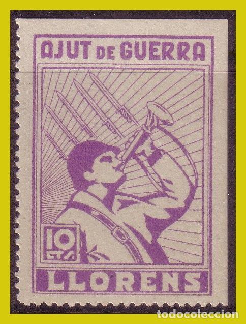 GUERRA CIVIL, SELLOS LOCALES TARRAGONA, LLORENS, FESOFI Nº 2 * (Sellos - España - Guerra Civil - Locales - Nuevos)