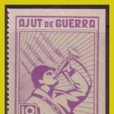 Sellos: GUERRA CIVIL, SELLOS LOCALES TARRAGONA, LLORENS, FESOFI Nº 2 *. Lote 202896647