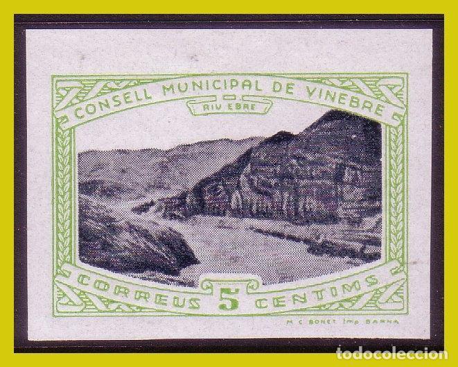 GUERRA CIVIL, SELLOS LOCALES TARRAGONA, VINEBRE, FESOFI Nº 6S * * (Sellos - España - Guerra Civil - Locales - Nuevos)