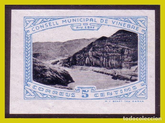 GUERRA CIVIL, SELLOS LOCALES TARRAGONA, VINEBRE, FESOFI Nº 5S * * (Sellos - España - Guerra Civil - Locales - Nuevos)