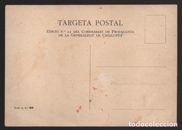 Sellos: POSTAL GENERALITAT CATALUNYA- U.G.T.-C.N.T. -UNIO ES FORCA- NUEVA- VER FOTOS - Foto 2 - 203295541