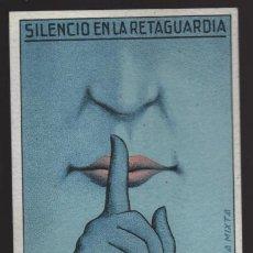 Sellos: POSTAL DE CAMPAÑA.- CIRCULADA A MADRID.- -SILENCIO EN LA RETAGUADIA- VER FOTO. Lote 203295761