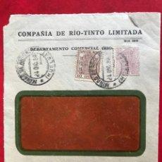 Sellos: ESPAÑA FRONTAL DE SOBRE. Lote 204317425