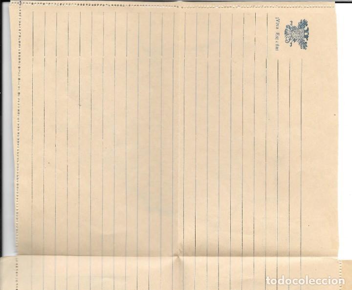 Sellos: GUERRA CIVIL. SOBRE ILUSTRADO GENERAL FRANCO, MONUMENTOS Y MAPA DE ESPAÑA SIN CIRCULAR - Foto 4 - 204435343
