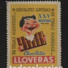 Timbres: CHOCOLATE LLVERAS- XXV ANIVERSARIO- VER FOTO. Lote 204477301