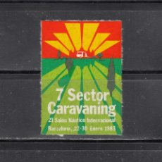 Sellos: 7 SECTOR CARAVANING. BARCELONA. Lote 204636197